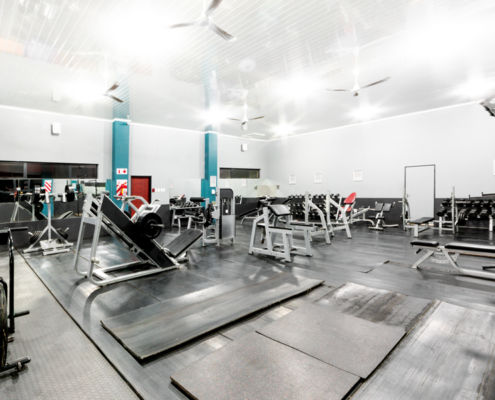 Student Accommodation in Potch indoor gym