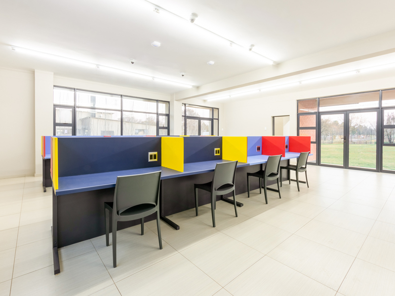 Media & Study Area for students